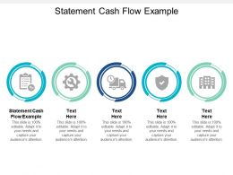 Statement Cash Flow Example Ppt Powerpoint Presentation Show Visuals Cpb