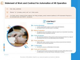 Statement Of Work And Contract For Automation Of Hr Operation Cost Expensive Ppt Powerpoint Rules