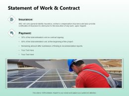 Statement Of Work Andcontract Ppt Powerpoint Presentation Shapes