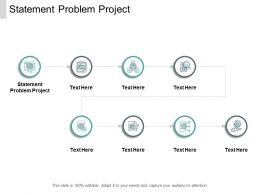 Statement Problem Project Ppt Powerpoint Presentation Gallery Styles Cpb