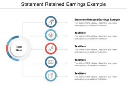 Statement Retained Earnings Example Ppt Powerpoint Presentation Files Cpb