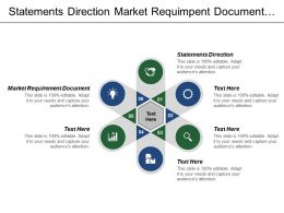 Statements Direction Market Requirement Document Features Requirement Document