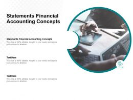 Statements Financial Accounting Concepts Ppt Powerpoint Presentation Slide Cpb