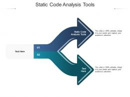 Static Code Analysis Tools Ppt Powerpoint Presentation Summary Templates Cpb