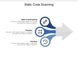 Static Code Scanning Ppt Powerpoint Presentation Portfolio File Formats Cpb