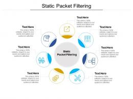 Static Packet Filtering Ppt Powerpoint Presentation Layouts Templates Cpb
