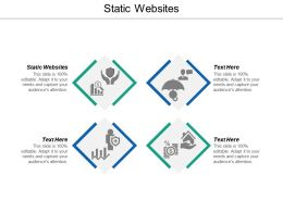 Static Websites Ppt Powerpoint Presentation Ideas Design Inspiration Cpb