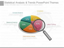 Statistical Analysis And Trends Powerpoint Themes