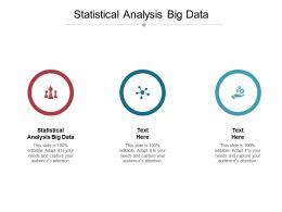 Statistical Analysis Big Data Ppt Powerpoint Presentation Model Good Cpb