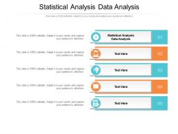 Statistical Analysis Data Analysis Ppt Powerpoint Presentation Pictures Images Cpb