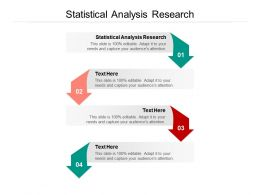 Statistical Analysis Research Ppt Powerpoint Presentation Show Structure Cpb