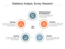 Statistical Analysis Survey Research Ppt Powerpoint Presentation Slides Show Cpb