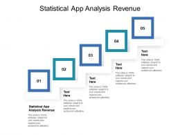 Statistical App Analysis Revenue Ppt Powerpoint Presentation Gallery Show Cpb