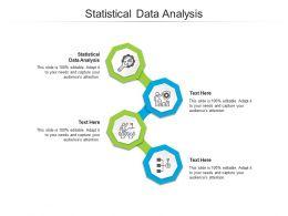 Statistical Data Analysis Ppt Powerpoint Presentation Summary Inspiration Cpb