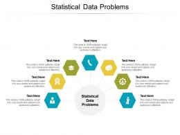 Statistical Data Problems Ppt Powerpoint Presentation Infographics Clipart Cpb