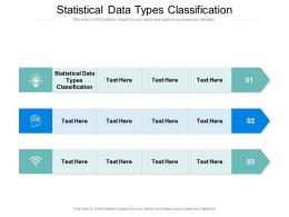 Statistical Data Types Classification Ppt Powerpoint Maker Cpb