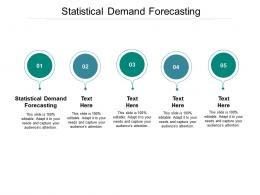 Statistical Demand Forecasting Ppt Powerpoint Presentation Outline Background Images Cpb