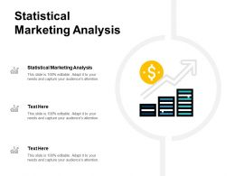 Statistical Marketing Analysis Ppt Powerpoint Presentation Infographics Designs Download Cpb