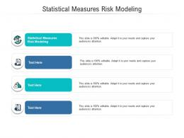 Statistical Measures Risk Modeling Ppt Powerpoint Presentation Summary Images Cpb