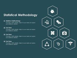 Statistical Methodology Ppt Powerpoint Presentation Ideas File Formats