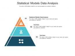 Statistical Models Data Analysis Ppt Powerpoint Presentation Summary Infographics Cpb