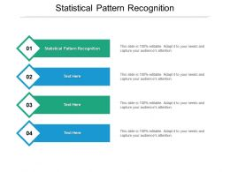 Statistical Pattern Recognition Ppt Powerpoint Presentation Slides Background Image Cpb