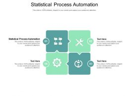 Statistical Process Automation Ppt Powerpoint Presentation Show Example Introduction Cpb