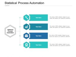 Statistical Process Automation Ppt Powerpoint Presentation Smartart Cpb