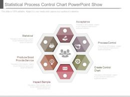 Statistical Process Control Chart Powerpoint Show
