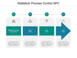 Statistical Process Control SPC Ppt Powerpoint Presentation Professional Design Templates Cpb