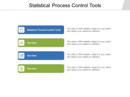Statistical Process Control Tools Ppt Powerpoint Presentation Ideas Shapes Cpb