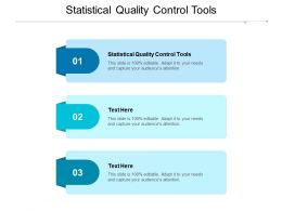 Statistical Quality Control Tools Ppt Powerpoint Presentation Model Example File Cpb