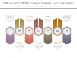Statistics Administration Analysis Diagram Powerpoint Shapes