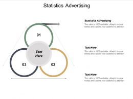 Statistics Advertising Ppt Powerpoint Presentation Gallery Graphics Example Cpb