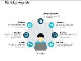 Statistics Analysis Ppt Powerpoint Presentation Ideas Icon Cpb