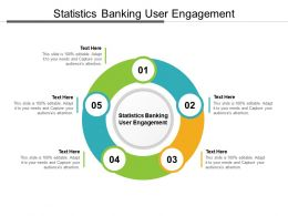 Statistics Banking User Engagement Ppt Powerpoint Presentation Styles Summary Cpb