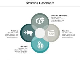 Statistics Dashboard Ppt Powerpoint Presentation Infographic Template Icons Cpb