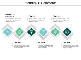 Statistics E Commerce Ppt Powerpoint Presentation Infographics Objects Cpb