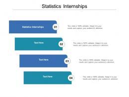 Statistics Internships Ppt Powerpoint Presentation Infographic Template Templates Cpb