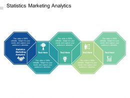 Statistics Marketing Analytics Ppt Powerpoint Presentation Visuals Cpb