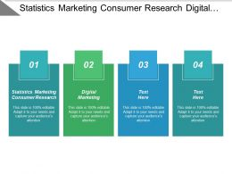 Statistics Marketing Consumer Research Digital Marketing Unique Resume Cpb