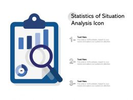 Statistics Of Situation Analysis Icon