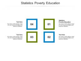 Statistics Poverty Education Ppt Powerpoint Presentation Show Slideshow Cpb