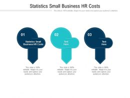 Statistics Small Business HR Costs Ppt Powerpoint Presentation Professional Influencers Cpb