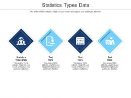 Statistics Types Data Ppt Powerpoint Presentation Pictures Information Cpb