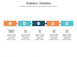 Statistics Variables Ppt Powerpoint Presentation Infographic Template Tips Cpb