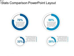 Stats Comparison Powerpoint Layout