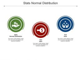Stats Normal Distribution Ppt Powerpoint Presentation Slides Icons Cpb