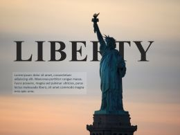 Statue Of Liberty USA Freedom Fourth Of July