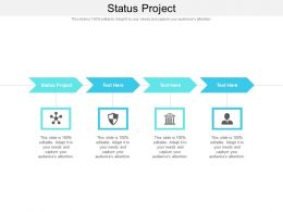 Status Project Ppt Powerpoint Presentation Inspiration Slideshow Cpb
